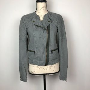 Gap Quilted Moto Jacket 6
